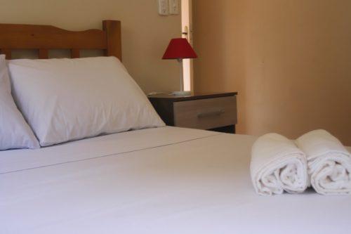 Suite 4 cama toalhas